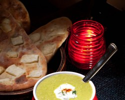 Curried Pea Soup 4