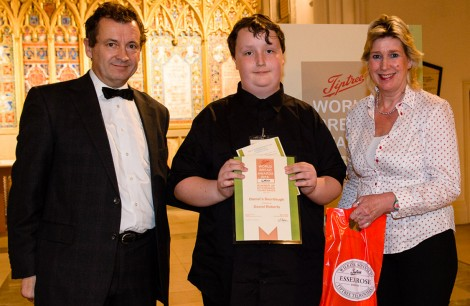 Winner KitchenAid Young Baker (12 - 17) - Daniel Roberts