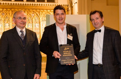 Winner Sourdough - Alexander Jacobs, The Sussex Kitchen Bakery