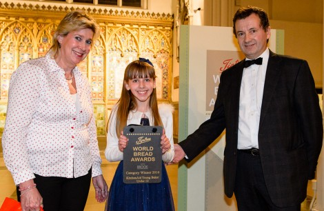 Winner KitchenAid Young Baker (under 12) - Charlotte Foster