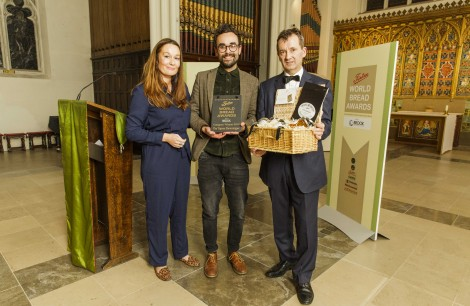 Winner Tiptree Showstopper: Dominic Salter -Salt Bakehouse
