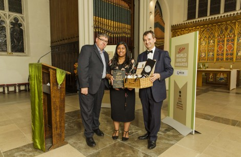 Winner Trainee Baker: Caroline Jeevachandran - National Bakery School