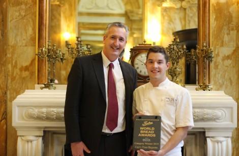 Winner Carr's Flour Baguette: Maxime Caillon - Hotel Cafe Royal